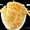 גבינת מוצרלה מגורדת
